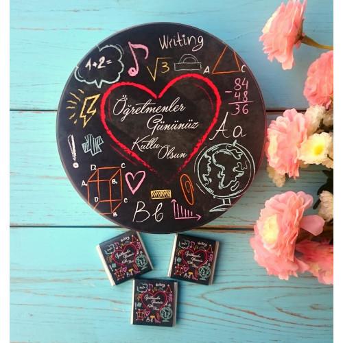 Hediyelik Öğretmenler Günü Çikolatası