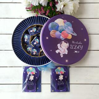 Uzay Konsept 50 Çikolata 25 Balon Açacak Magnet
