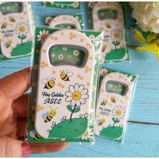 Arı Çiçek Temalı Açacak Magnet