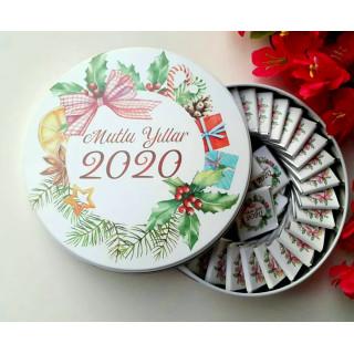 Hediyelik Yeni Yıl Çikolatası